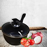 FunkyBuys20cm Non Stick Sauce Pan w/ Lid Kitchen Home Cookware by FunkyBuys