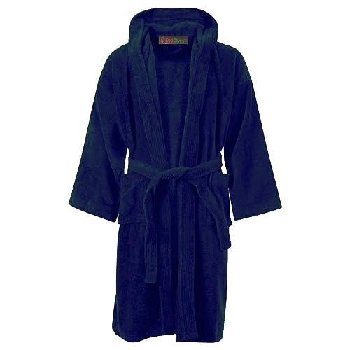Velour Dressing Gown: Amazon.co.uk