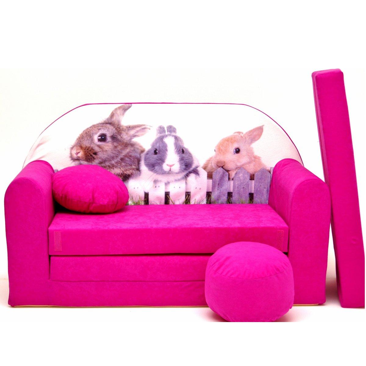 H25 de S Niños Bar Dormir emergente sofá sofá sofá Mini sofá 3 en 1 Baby Set + – Sillón infantil y asiento cojín + colchón