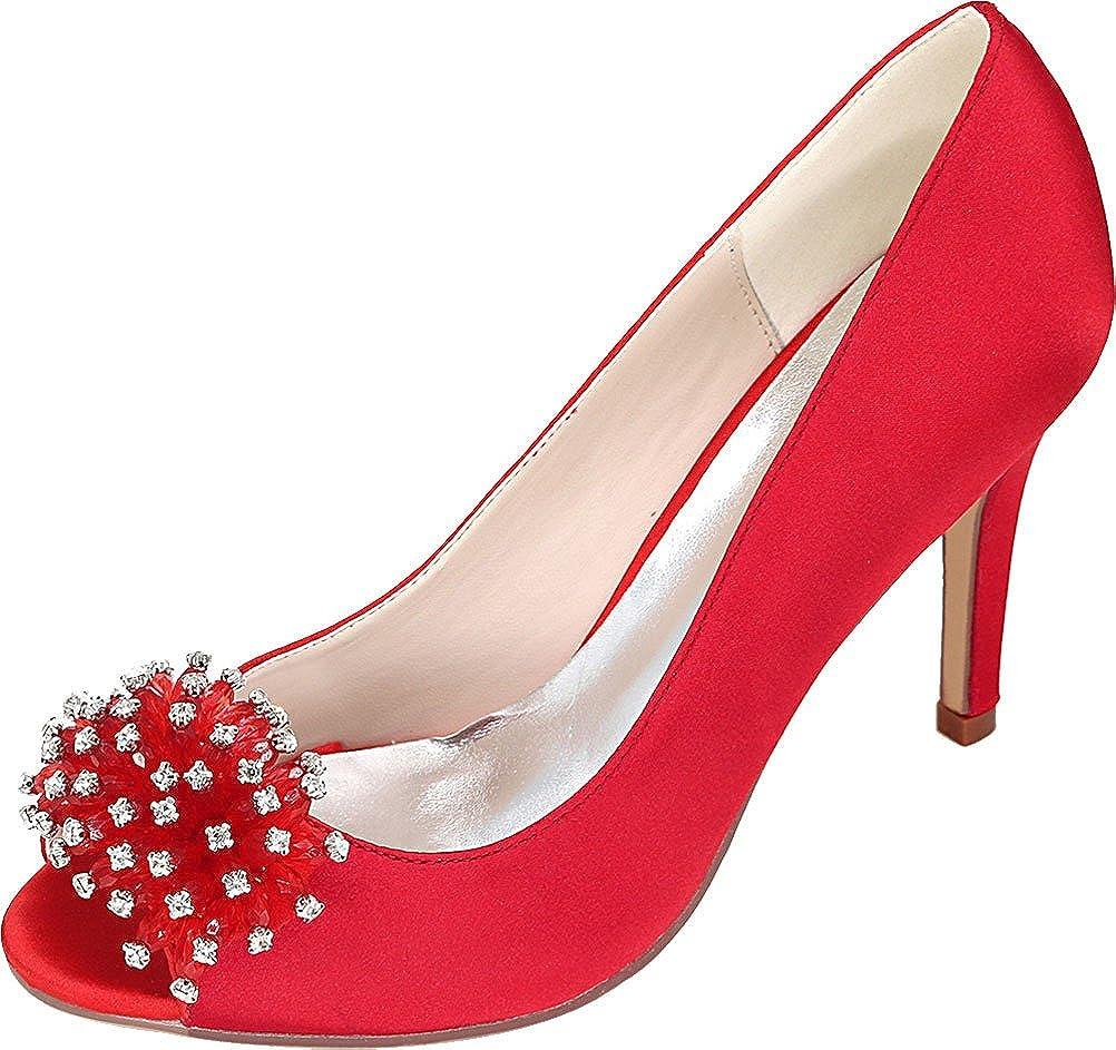 CFP , Damen - Peep-Toe, Rot - rot - Damen Größe  EU 38 88d815