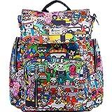 JuJuBe Be Sporty Backpack/Diaper Bag, Tokidoki