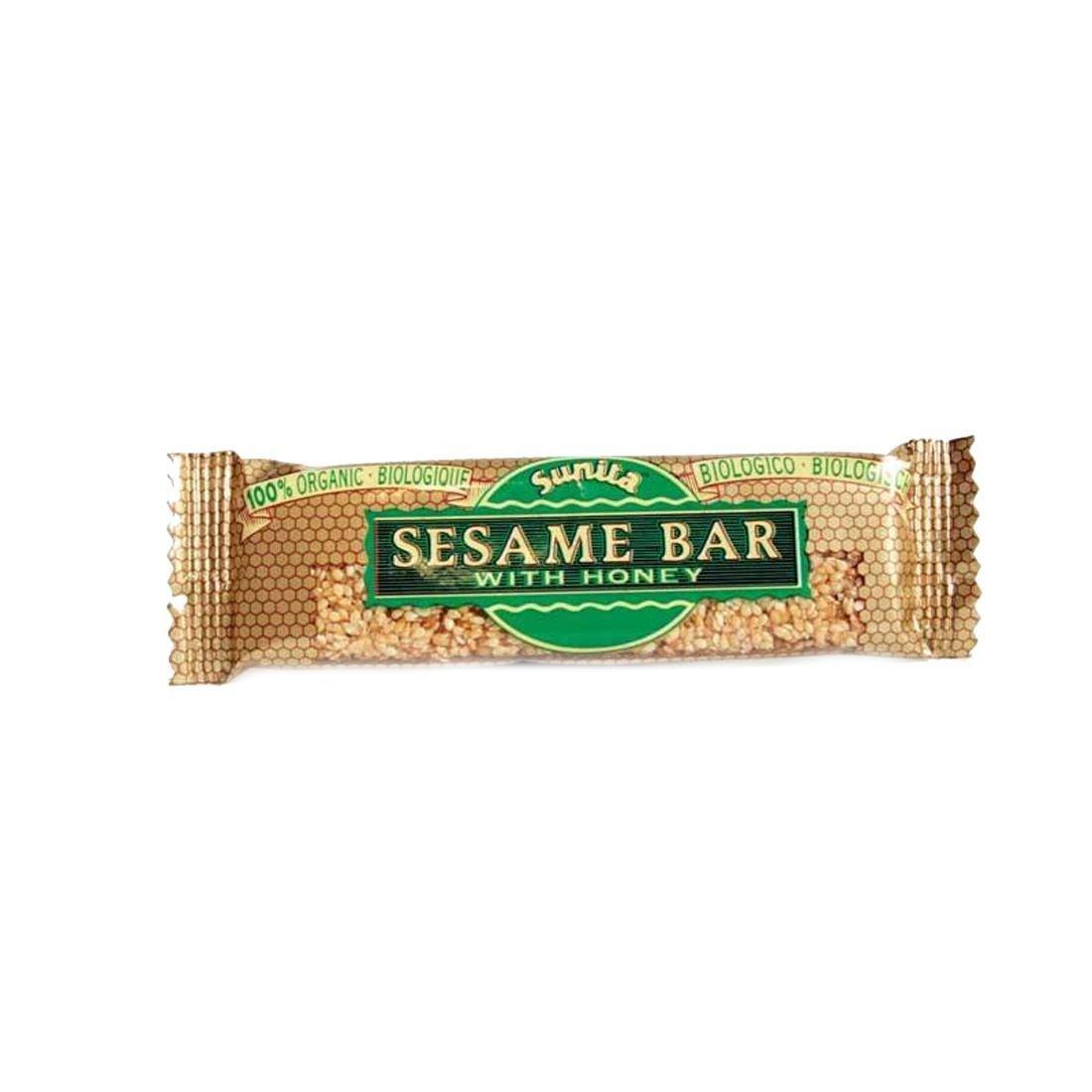 Sunita     Sunita Sesame & Honey Bar - organic   15 x 30g f8cf1a