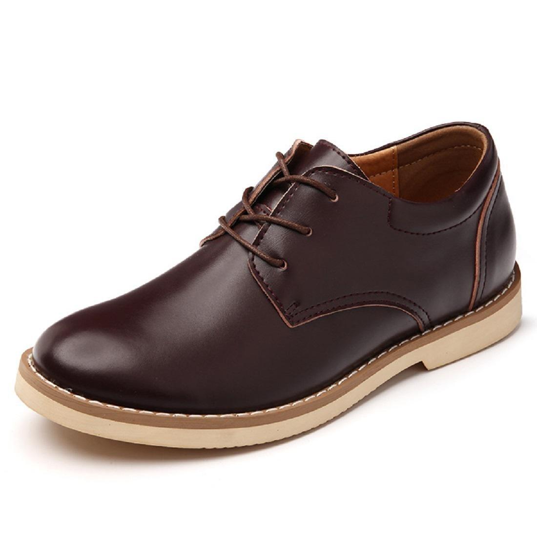 Herren Winter Warm halten Freizeit Lederschuhe Mode Flache Schuhe Schuhe erhöhen Rutschfest Gemütlich EUR GRÖSSE 38-44