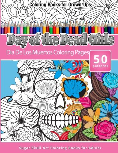 Day of the dead coloring pages | The Sun Flower Pages | 500x386