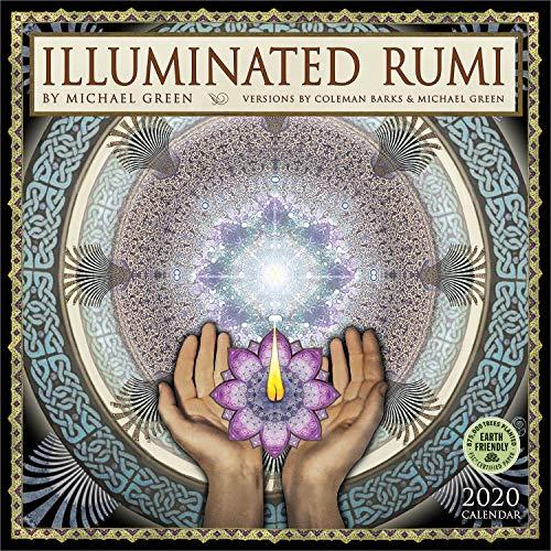 The Illuminated Rumi 2020 Wall Calendar