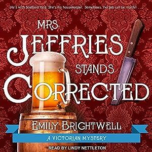 Mrs. Jeffries Stands Corrected Audiobook