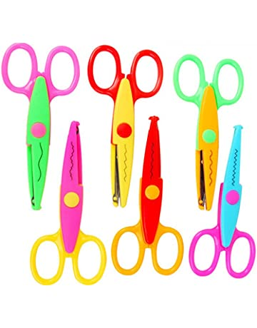 Hand Tools Scissor Student Kid Fold Stationery Paper Cut Office Art Child Preschool Photo Safe Blunt Tip Protect Portable Diy School Home