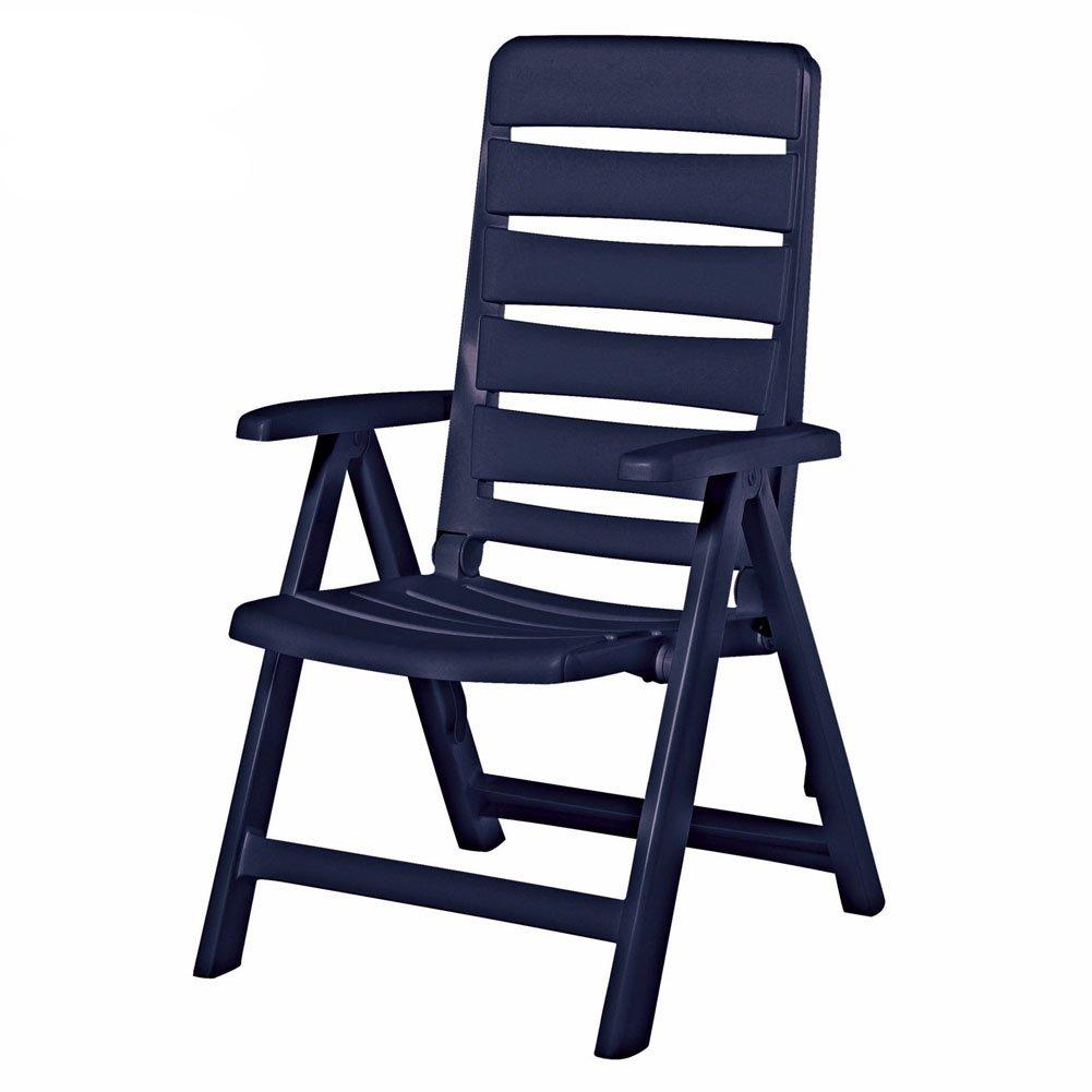 super gartenst hle kunststoff blau hw62 kyushucon. Black Bedroom Furniture Sets. Home Design Ideas