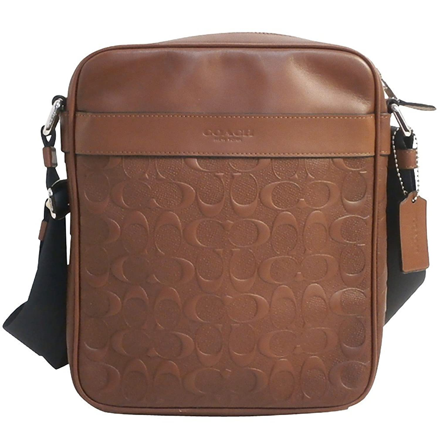 03ef85d58b00 ... promo code for coach charles flight bag in signature leather f24868  saddle acd81 6db58 ...