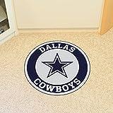 FANMATS 17956 NFL Dallas Cowboys Roundel Mat