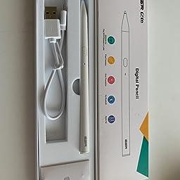 Amazon Co Jp カスタマーレビュー Esr タッチペン Ipad ペン 最新版 デジタルペンシル パームリジェクション機能付きアクティブスタイラスペン 正確で充電可能なipadペンシル Ipad Pro 18 Ipad 8 Ipad 7 Ipad 18 第6世代 Ipad Air 3 Ipad Mini 5対応 白