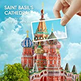CubicFun LED Russia Cathedral 3D Puzzles for Adults