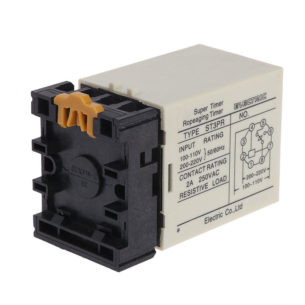 Digital Timer Relay Circuit