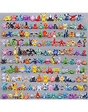 Pokémon-poppen, 144 stuks, schattig, mini-figuren, 2-3 cm, speelgoed, figuren voor kinderen, kantoordecoratie