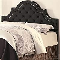 Traditional Upholstered Headboard (Queen - 63 in. W x 3.5 in. D x 53 in. H)