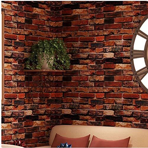 Yancorp Self-Adhesive Wallpaper Rust
