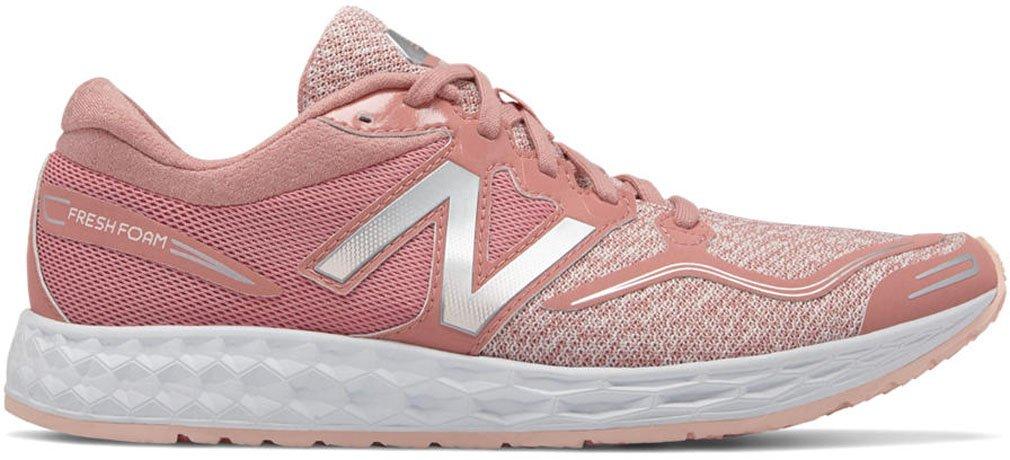 New Balance Women's Fresh Foam Veniz v1 Running Shoe B06XRVBYTF 5.5 B(M) US|Peach/Sunrise Glo