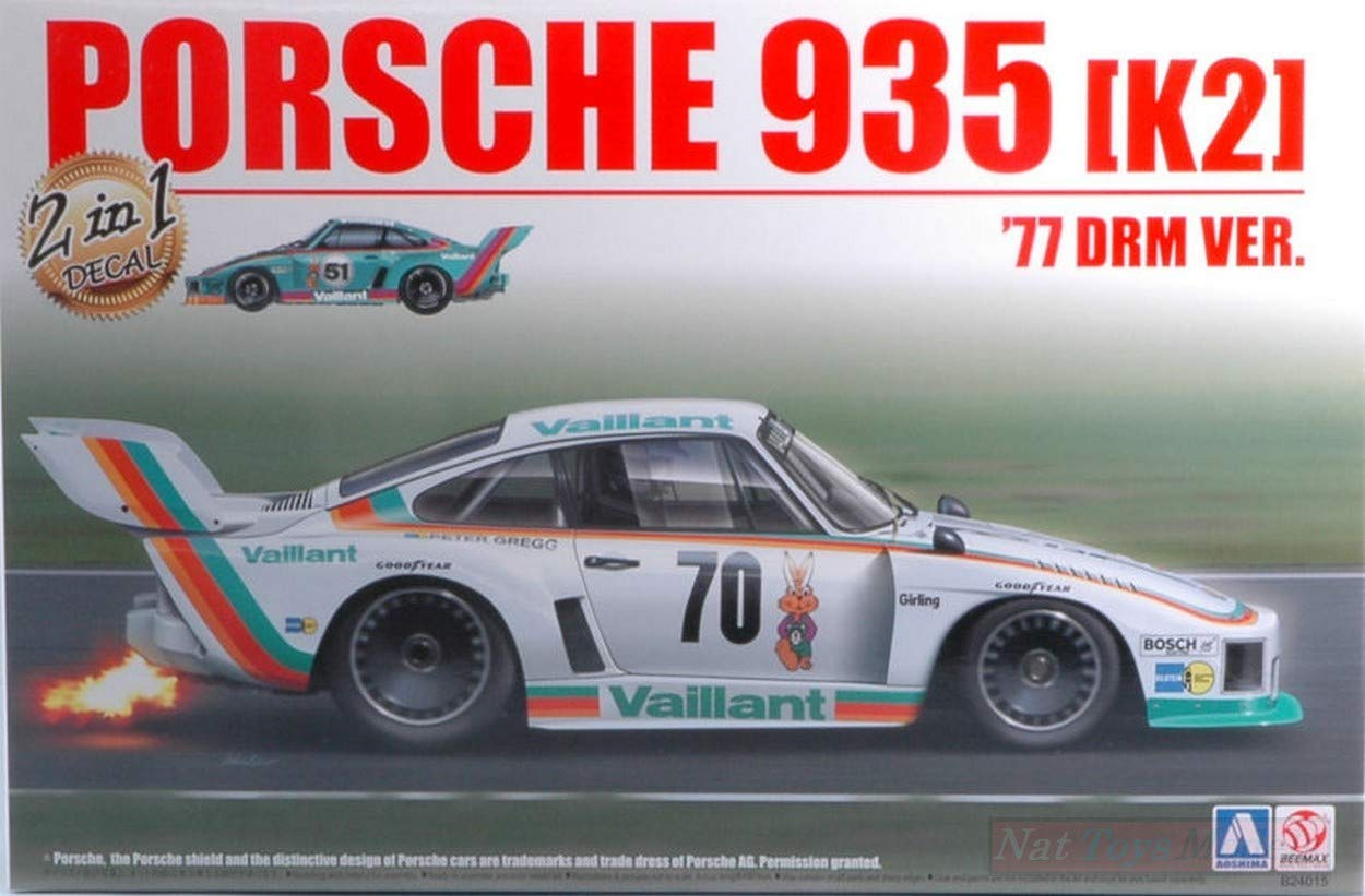 BEEMAX BMX24015 Porsche 935 K2 Double Version N.16 OR Nurnberg N.70 Kit 1 24