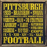 Pittsburgh Steelers Vintage Style Wooden Sign-18x18