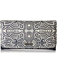 My Long Eyes Printed Tri-fold Wallet Wallet