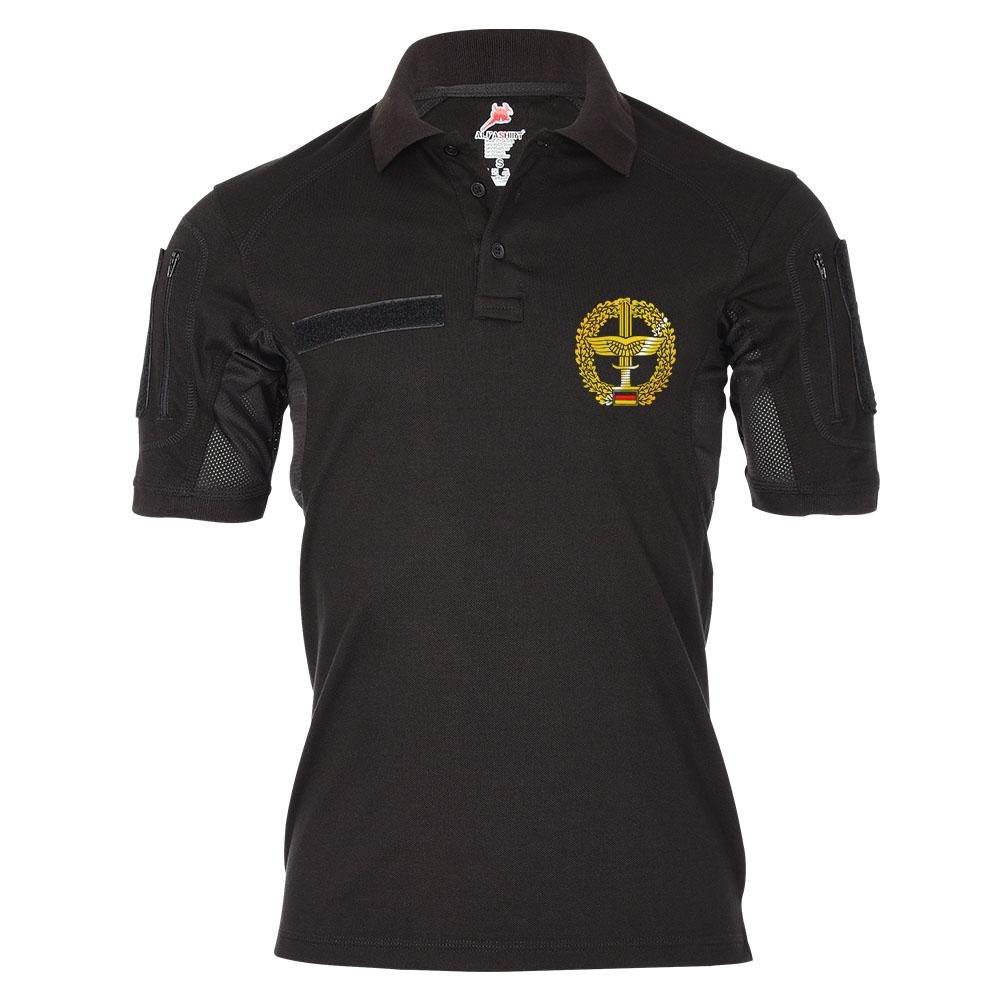 Tactical Poloshirt Alfa Barettabzeichen Heeresfliegertruppe Heer Wappen Militär Abzeichen Emblem  19387
