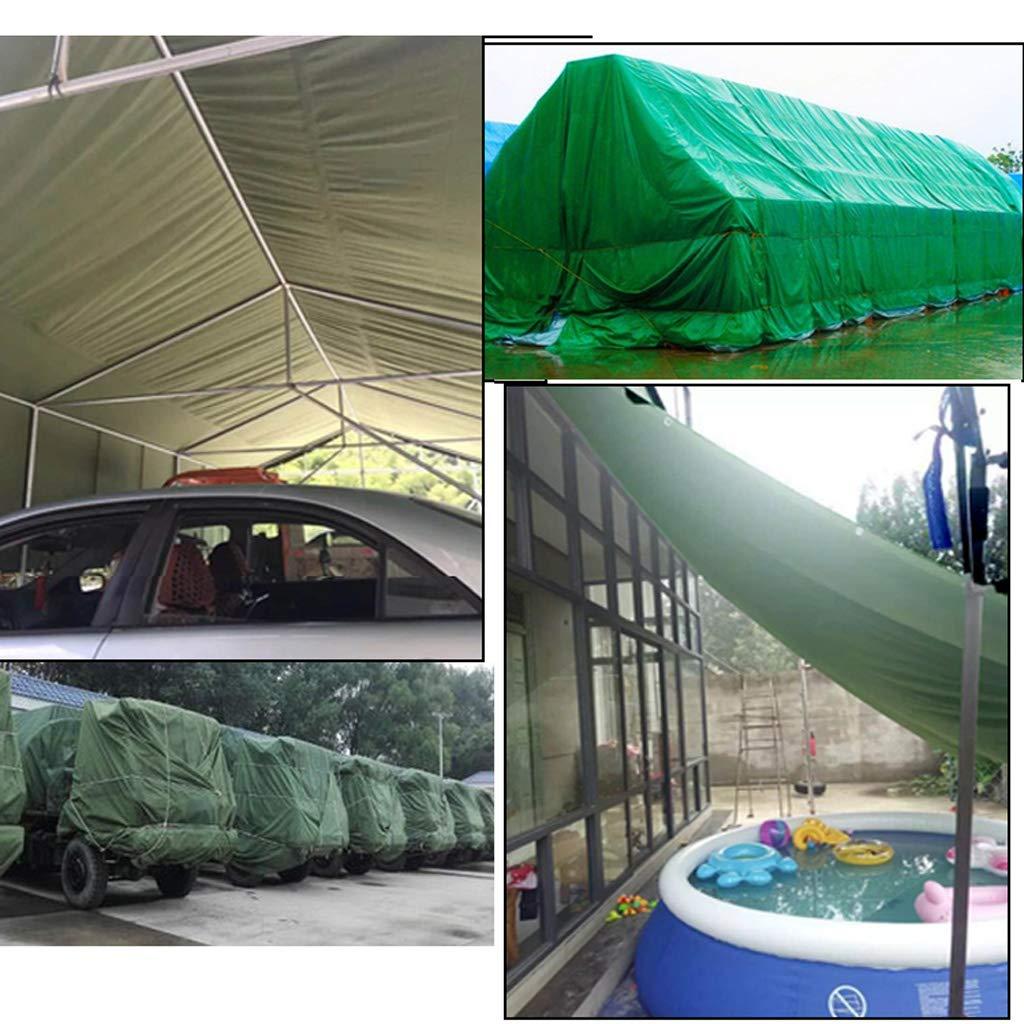 Lona Impermeable Protector Solar Resistente al frío Lona Poncho Lona frío Sombra Tela Camión Lona de Lona (420 g por Metro Cuadrado) (Color : Photo Color, Tamaño : 1.5X2m) bc8c48