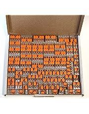 Wago 221 klemmenset 25x 221-412, 221-413, 221-415 | kabelconnector in een hersluitbare doos - origineel WAGO