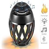 Vistatech Led Flame Speaker Bluetooth Speaker,Dancing Flames Outdoor Indoor Portable Bluetooth Speaker &Torch Atmosphere Ligh