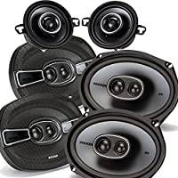 Kicker Dodge Ram Crew Cab 2012 & up speaker bundle- 2 pairs of KS 6x9 speakers, & a pair of KS 3.5 speakers