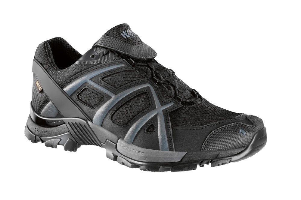 Haix Negro EAGLE 10 Bajo Atlético Gore-Tex Impermeable Transpirable Zapato 40 EU|negro