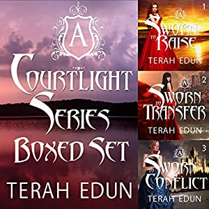 Courtlight Series Boxed Set (Books 1, 2, 3) Audiobook