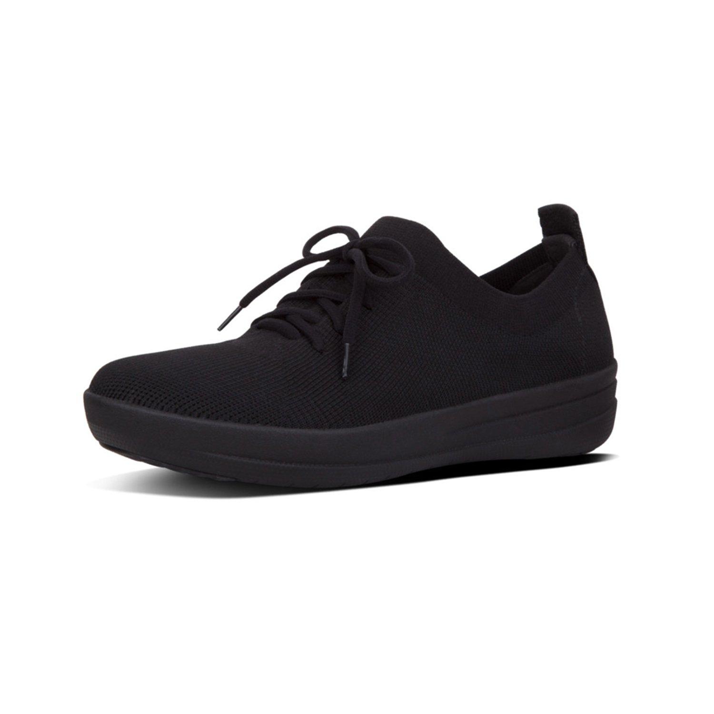 FitFlop F-Sporty Uberknit Sneakers 36 EU Negro (All Black 090)