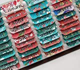 Teal Bible Tabs with Large Print for Women and