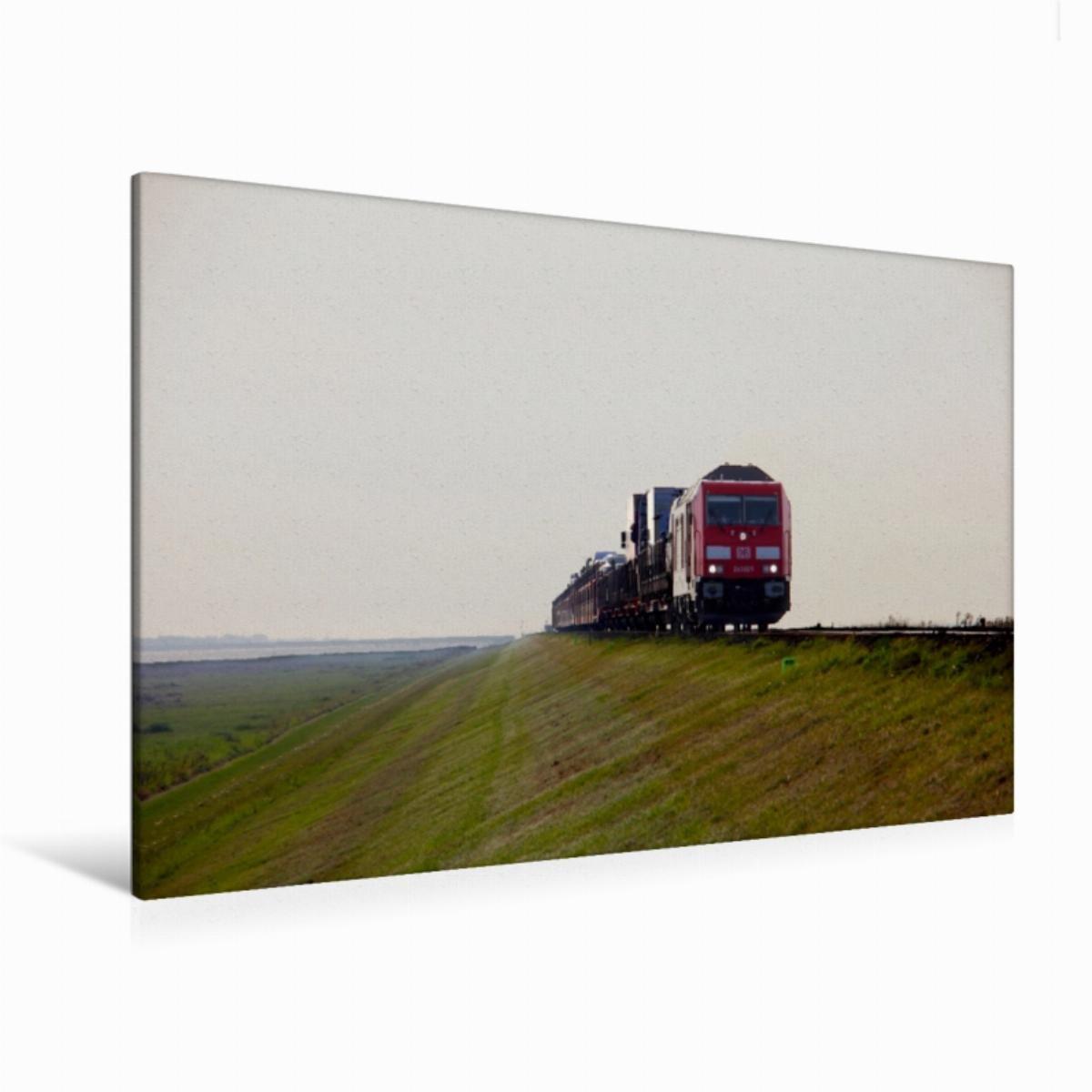 Promoción por tiempo limitado Premium Textil de lienzo 120 cm x 80 cm las nuevas locomotoras de Db Horizontal de diseño Serie 245 son ya Colección   Lienzo, Montado en bastidor, imagen sobre auténtica Lienzo, Lienzo Impresión