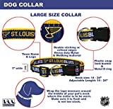 Pets First NHL ST.Louis Blues Collar for Dogs
