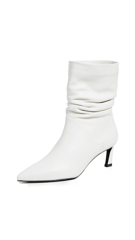 Stuart Weitzman Women's Demibenatar Ankle Boot B078FGJW6F 4.5 B(M) US|White