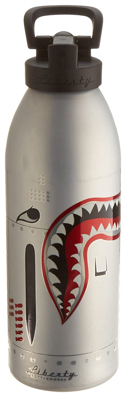 Liberty Bottleworks Silber Hunter Sport Wasser Flasche