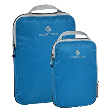 Eagle Creek Pack It Specter Compression Cube Set, Brilliant Blue, 2 Pack