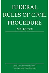 Federal Rules of Civil Procedure; 2020 Edition: With Statutory Supplement Paperback