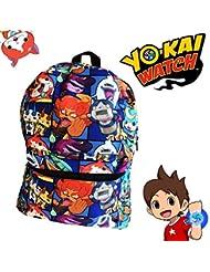 Yo Kai Watch Backpack 17 inches - Great Book Bag