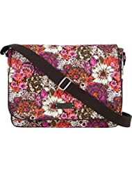 Vera Bradley Womens Laptop Messenger Bag