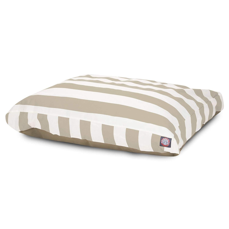 Majestic Pet greenical Stripe Sand Large Rectangle Pet Bed