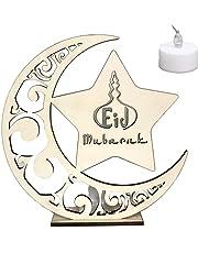 Event & Party Smart 1 Pcs Eid Ramadan Decor Moon Star Ornament Wooden Hollowed Muslim Ramadan Allah Islamic Gift Handmade Home Decorations 2019