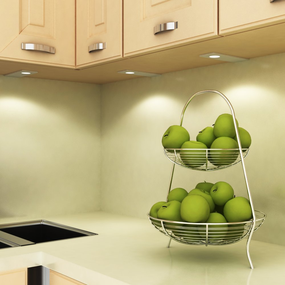 LED Küchenleuchte Unterbauleuchte Aufbauleuchte Küchenlampe Unterbaustrahler SET, Auswahl Auswahl Auswahl 1er Set warmweiss 02ab06