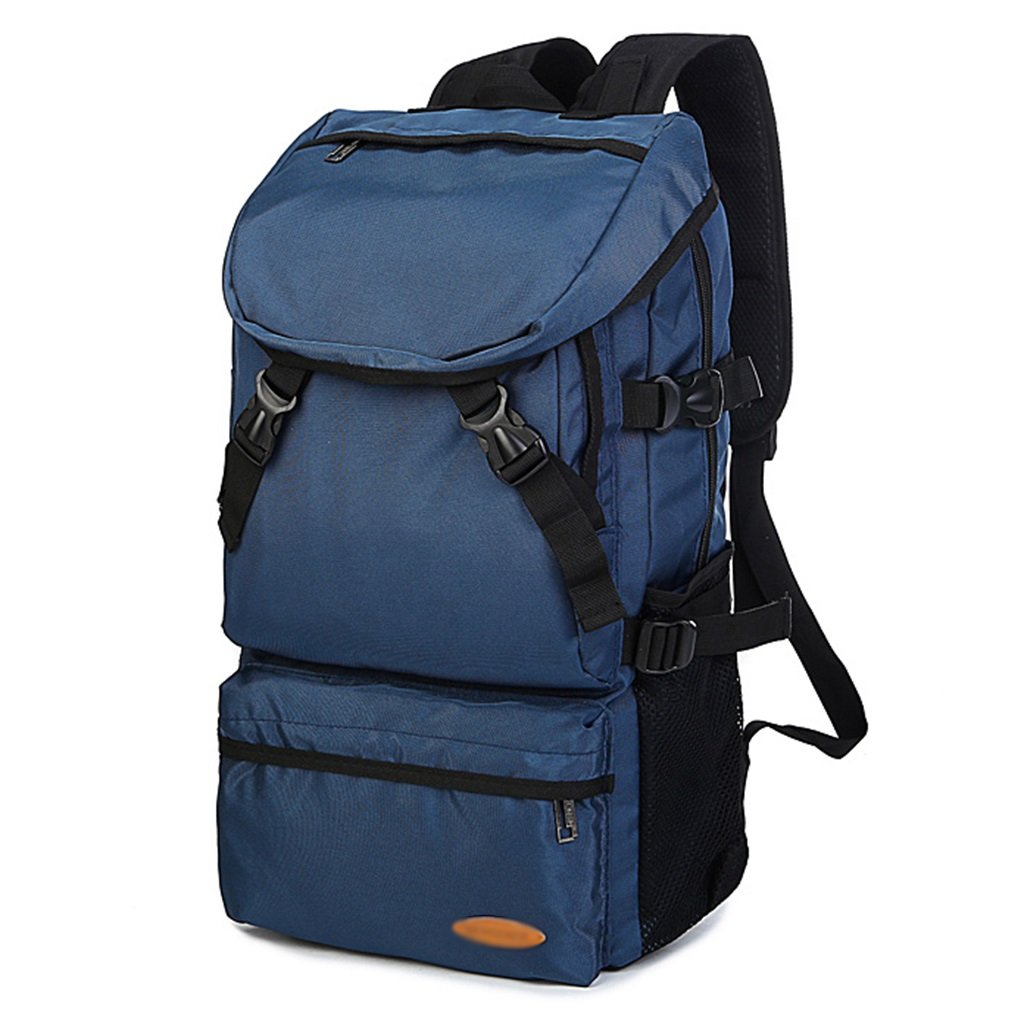 Wandern Rucksack WSSF Große Kapazität Nylon Schulter Rucksack Schultasche Laptop Taschen für Männer Frauen Outdoor Sports Reisen Wandern Gym Mountaineering Rucksack Farbe, Größe Optional