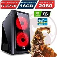 Computador Gamer Intel Core i7-3770 Rtx 2060 Ram 16gb Ssd 240gb Windows 10
