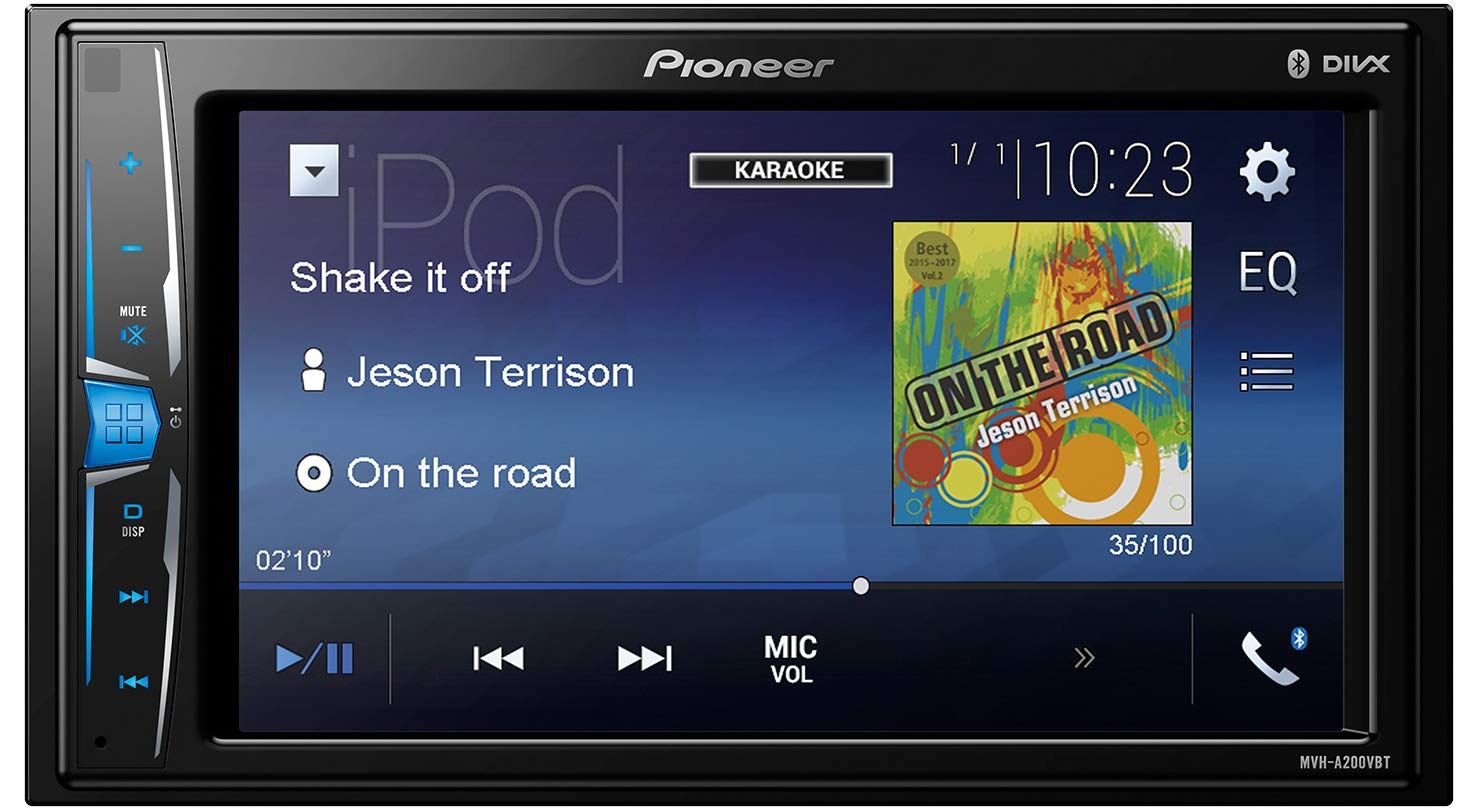 Pioneer Car Multimedia Autoradio USB/Bluetooth 4 x 50 w Noir product image