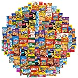 Snack Chest Care Package (120 Count) Variety Snacks Gift Box - College Students, Military, Work or Home - Over 9 Pounds of Chips Cookies