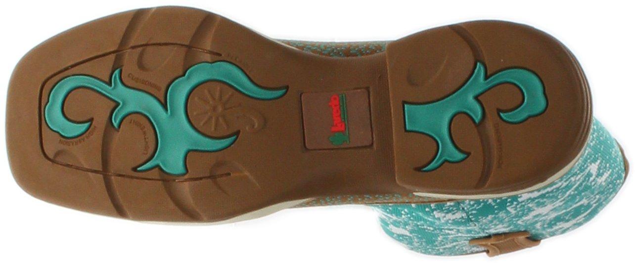 Laredo Women's Daydreamer Woven Western Boot Square Toe - 5957 B01LYH78M0 6.5 B(M) US Tan