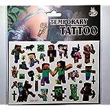 Minecraft Temporary Tattoos (2 Pack)